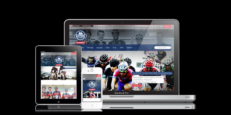 Rayong Bike Tours Website Design